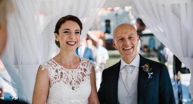 Ślub Magdy i Santo